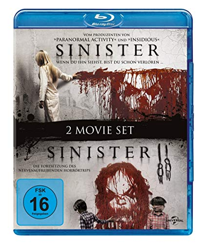 Sinister 2 Movie Set [Blu-ray]