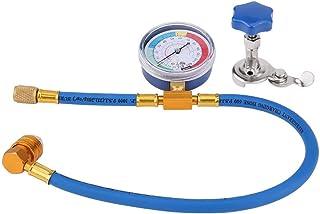 Tubo de carga refrigerante del aire acondicionado, Adaptador de medidor de manguera de medición de recarga R134A R12