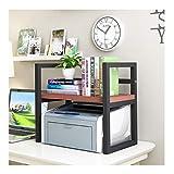 Soporte de Impresora Impresora multifuncional rack Oficina Organizador de escritorio moderna simple de escritorio Biblioteca de la impresora Soporte de almacenamiento en rack rack de copia Estante de