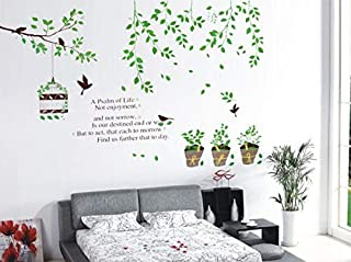 Miihome Removable Wall Sticker - A Psalm of Life