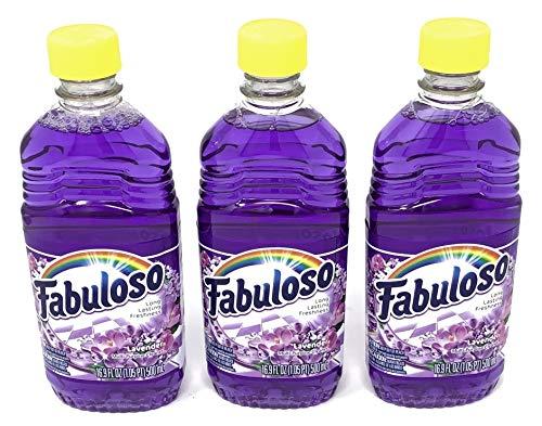 Fabuloso Lavender Freca Lavanda 16.9 FL OZ (Pack of 3)