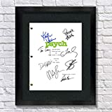 ✮✮✮✮✮ FRAMED OPTION: The complete script comes framed in a high quality handcrafted black wooden photo frame ✮✮✮✮✮ PROFESSIONAL: Framed option on pH-neutral matboard with 45-degrees beveled frame cut by precision mat cutting machine. This photo has b...