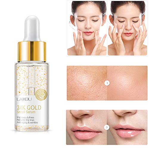 ZYAO Hyaluronic Acid Serum Facial Vitamin C Anti Ageing Anti Wrinkle Serum for Hydrating - Fade Dark Spot - Wrinkles Fine Lines,Restore & Boost Collagen (D)