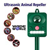 Best Pest Repellers - Ultrasonic Pest Repeller by Wide World - Solar Review