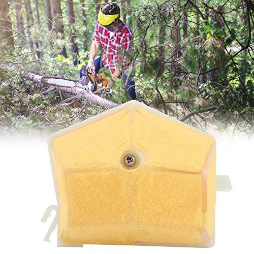 Semiter Luftfilter für Husqvarna Kettensäge, leicht zu ersetzender Metallmaterial Luftfilter für Husqvarna 55 Kettensäge, Generatormotor für Landwirtschaft Wasserpumpe Motorteile