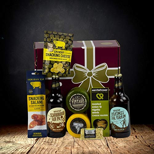 Gluten Free Cheese and Beer Gift Hamper
