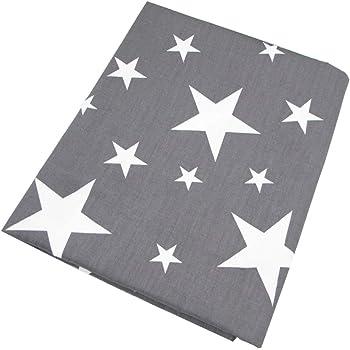 una pieza 50cm * 160cm Stars tela de algodón estampada ,telas para ...