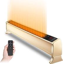 XLOO Radiador Convector Calefactor/Radiador eléctrico2600W, LED + Pantalla Digital,con diseño de Bloqueo para niños,Pantalla automática apagada, Trabajo silencioso Adecuado para el hogar