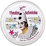 papieto Theaterschminke/Schminke (13 Farben / 25 g) FREI WÄHLBAR (Weiss)