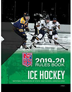 2020 NFHS Ice Hockey Official Rules Book | National Federation High School | Paperback