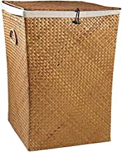 High Capacity Baskets At Linen Cover With Dirty Boxes From Storage Straw Clothing Sales From Storage Cart Woven Clothing T...
