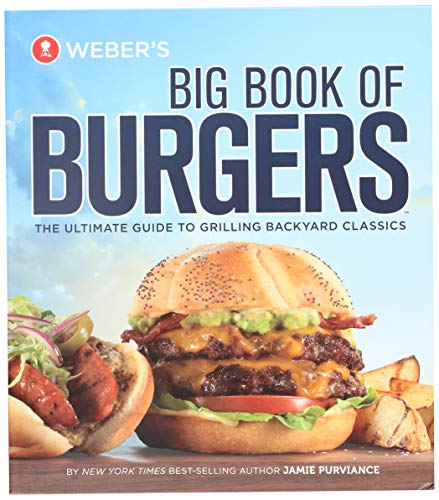 Weber-Stephen Products 9553 Groot Boek van Burgers Kookboek