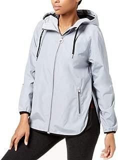 Calvin Klein Performance Hooded Cross-Back Jacket Bluish XS Blue/Green