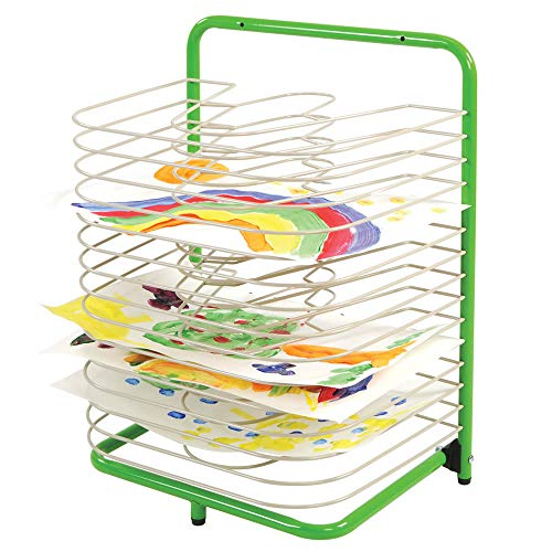 edxeducation Art Work and Paint 15 Shelf Drying Rack
