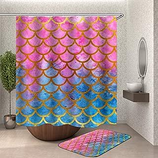 Best mermaid shower curtain set Reviews