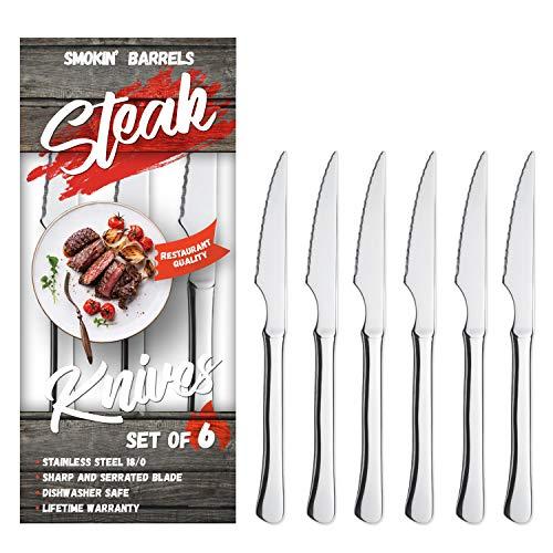 Smokin' Barrels - Everyday Steak Knives Set of 6