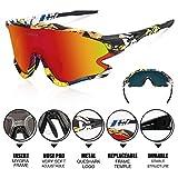 Zoom IMG-2 queshark occhiali ciclismo con 1
