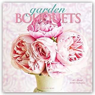 Graphique Garden Bouquets 2020 Wall Calendar, 16-Month 12