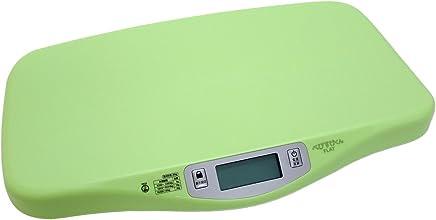 デジタル ベビースケール べびすけくん フラット FLAT 体重計 赤ちゃん 用 乳児 乳幼児 5g 授乳 量 べびすけ 【 グリーン 】