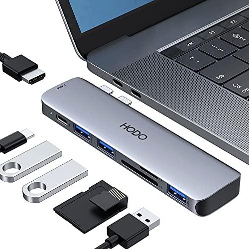 USB C Adapters for MacBook Pro/Air 2020-2018, MacBook Pro USB C Hub HDMI...