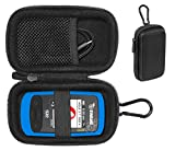 Golf GPS Case by CaseSack, Specially Designed for Izzo Swami 6000 Golf GPS, and Swami 4000, 4000+, 5000 Golf GPS Rangefinder; Garmin Approach G30, G6, G7, Canmore HG200 (Black)