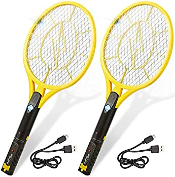 2-Pack Tregini Large Electric Fly Swatter