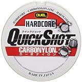 DUEL(デュエル) HARDCORE(ハードコア) カーボナイロンライン 12Lbs. HARDCORE QUICK SHOT CN 150m 12LbS. チタンゴールド バス H3349
