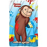Universal Studios Paint - Curious George - Fleece Throw Blanket (36'x58')