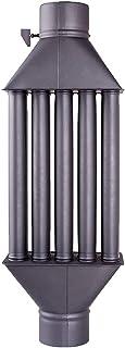 comprar comparacion Intercambiador de calor de chimenea Diplomat intercambiador de aire caliente, enfriador de gas de escape negro, diámetro d...