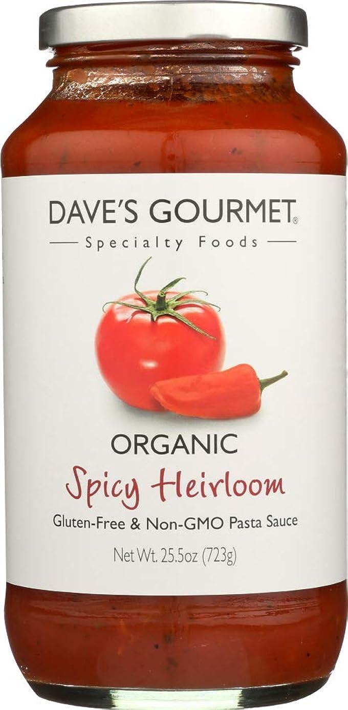 Dave's Gourmet (NOT A CASE) Organic Pasta Sauce Spicy Heirloom Marinara