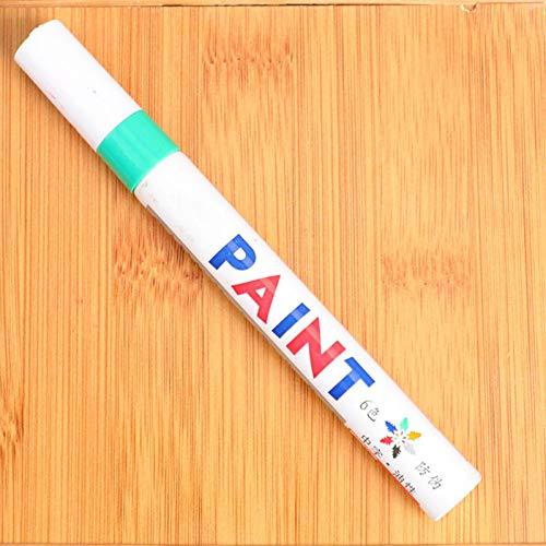PIGMAMA Autolack-Markierungsstifte DIY Craft Projects Schnelltrocknende Permanentmarker Reifenstifte Für Autoreifen-Lackmarkierungen Tinte Wasser- und lichtbeständig.