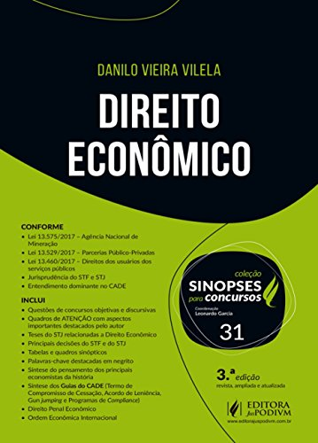 Direito Econômico (Volume 31)