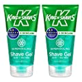King of Shaves Supercooling Shaving Gel for Men 150 ml TWIN-PACK by The King of Shaves Company