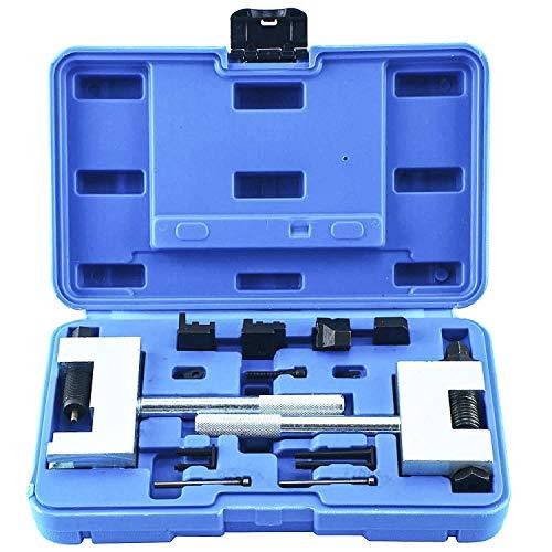 FreeTec Kit de Herramientas remachadas de Cadena de distribución del Motor Diesel Compatible con Mercedes-Benz W213 W212