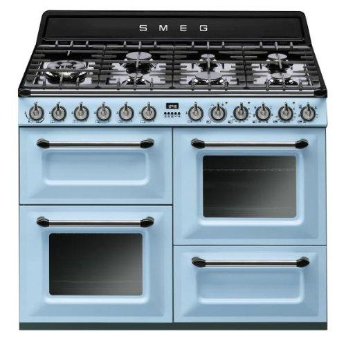 Piano de cuisson Smeg TR4110AZ  - Bleu azur - Classe...