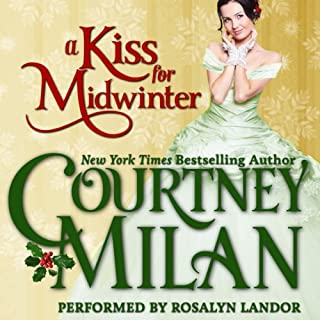 A Kiss for Midwinter audiobook cover art