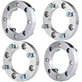 OCPTY Replacement Parts Compatible with 4 Lug 4X 1 (25mm) 4x137mm Bolt Pattern 10x1.25 Studs Wheel Spacers fit Can-Am Outlander Kawasaki