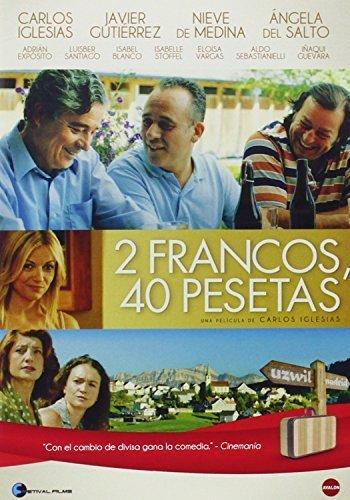 2 Francs, 40 Pesetas ( 2 francos, 40 pesetas ) ( Two Francs, Forty Pesetas ) [ NON-USA FORMAT, PAL, Reg.0 Import - Spain ] by Carlos Iglesias