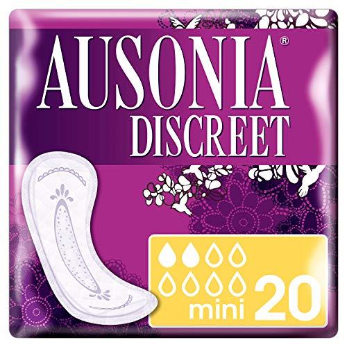 Ausonia Discreet - Compresas para pérdidas de orina mini para vejigas...