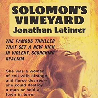 Solomon's Vineyard audiobook cover art
