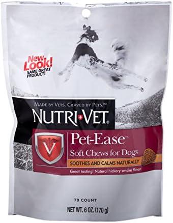Nutri-Vet Pet-Ease Soft Chews, 70 Count Pack of 1