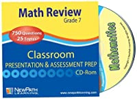 NewPath Learning Math Interactive Whiteboard CD-ROM Site License Grade 7 [並行輸入品]