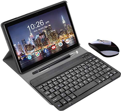 Tablet 10.1 Pollici con Wifi Offerte 4G DUODUOGO Tablet offerte Android 9.0 Pie Memoria RAM da 4GB RAM+64GB ROM Tablet PC con Dual SIM,Tablet Offerta Del Giorno OTG Netflix Certificato Google GSM-P6