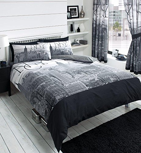Adam 3D NYC New York City Night Duvet/Quilt Cover Sets Bedding Sets (NYC Double)