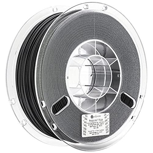 Filamento de PC MAX, Filamento de impresora 3D, PC (1.75 mm, 750 g), 110 ℃ resistente al calor, más duro y más fuerte que la PC regular-negro