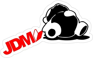 Big Lens store Sleepy Panda JDM (5) Stickers (3 Pcs/Pack)