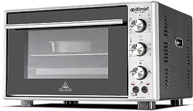 Itimat - Four double vitre avec turboventilateur 60 litres (noir)
