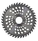 Parte superior calidad sierra de hoja de sierra circular (Skill) 160mm incluye anillas de reducción (20mm, 16mm, 25mm, 30mm) para madera disco de corte circular 160mm x 32mm x 40dientes