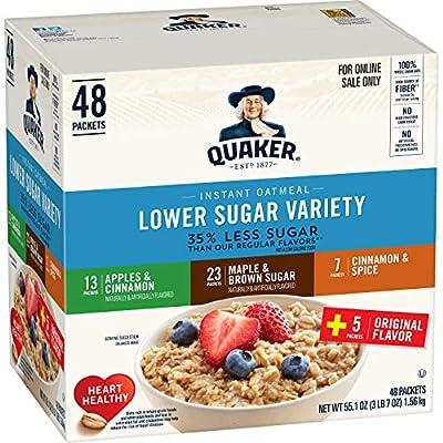 Quaker Instant Oatmeal, Apples & Cinnamon