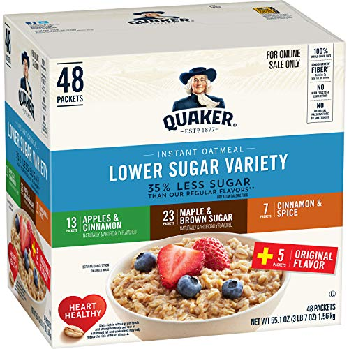 Quaker Instant Oatmeal 48 Count – HOT PRICE